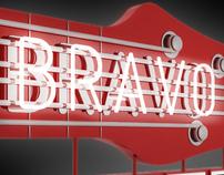 Bravo Hotel Band Logo