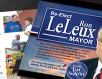 """""""Re-elect Mayor Ron LeLeux"""" Political Campaign"""
