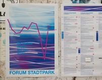 Monatsprogramme FORUM STADTPARK, 2010–2013