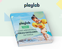 Playlab - eBook, Landing Page e email marketing