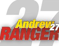 Andrew Ranger #27 Pochette recherche de commandite