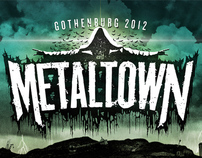 Metaltown 2012 festival poster
