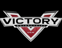 3D Model of New Victory Logo
