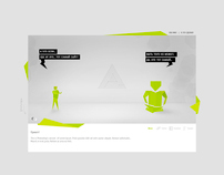 My new site design)