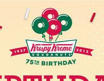 Krispy Kreme Malaysia graphics work