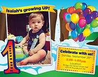 Birthday Invitation and Illustration
