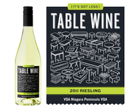 Malivoire Table Wine Label Illustrations