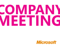 Microsoft : Company Meeting