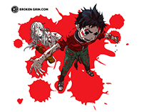 Deadman Wonderland Pop Art