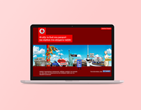 Vodafone Passport online Campaign & Website
