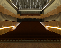 THE PROJECT OF THE THEATER FOR 600 PERSONS