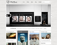 Wordpress Photo Blog Template