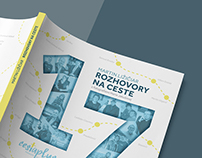 Rozhovory na ceste_book design