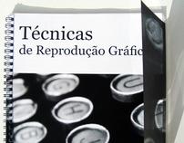"""""""Técnicas de reprodução gráfica"""" the book"""