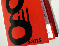 Selling Gill Sans