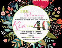 Kia's 40th Birthday Digital Invitation and Short Film
