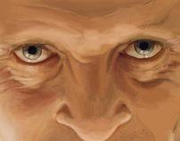 Pintura Digital - Dr. Hannibal Lecter