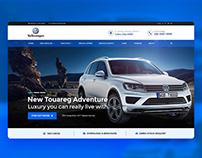 Volkswagen Website Design
