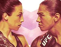 UFC 211 Key Art