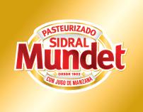 Sidral Mundet . Brand design