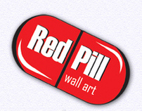 Red Pill Wall Art