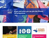 Suomi Finland 100 - Sitio web