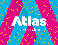 Atlas Cinema - Brand Identity and E Commerce