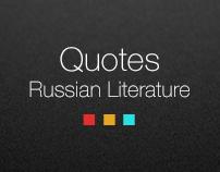 Quotes - Russian Literature