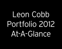 Leon Cobb 2012 Design At-A-Glance Slideshow
