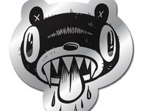 Silver Bear Stickers