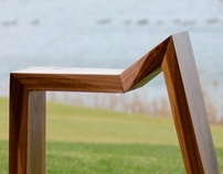 Jagged Walnut Frame