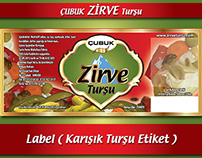 PICKLE  LABEL (TURŞU ETİKETİ)