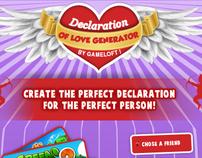 Gameloft -  Valentine Love Generator
