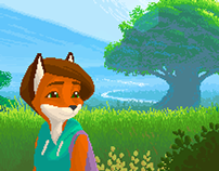 Foxtail - oldschool point`n`click adventure game