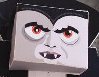 Paper Toys - Series 2 - Halloween Characters