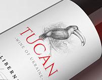 Design of wine label