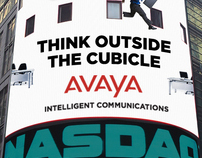 Avaya: Outdoor Signage and Website Marquee
