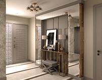 Flat Entrance Interior Design