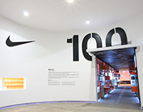 Nike 100+8, Beijing: Exhibition
