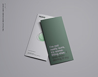 Advanced 16 Trifold Brochure Mockups
