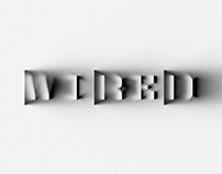 WIRED 100th issue masthead logo