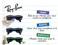 Campaña publicitaria Ray-Ban