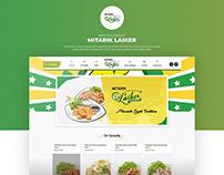 Redesign Website Noodle Restaurant-Food & Beverage Site