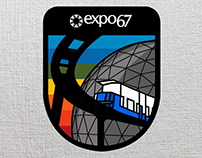 Expo 67 badges