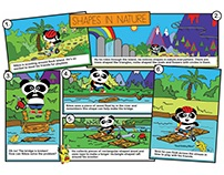 Panda Pals - Shapes in Nature Story
