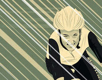 Lizzie Armitstead Olympic illustration