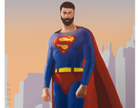 Commission - personal Superman