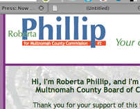 Roberta Philip for Multnomah County Commission
