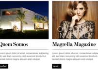 Magrella Fashion Store Website Layout