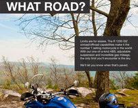 BMW Motorcycle Advertisement